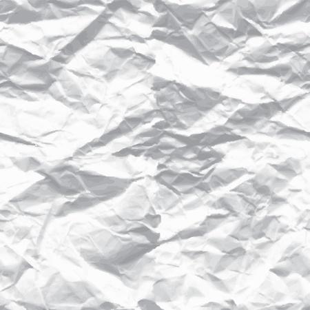 gekreukeld papier Vector Illustratie