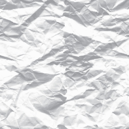 crumbled: wrinkled paper
