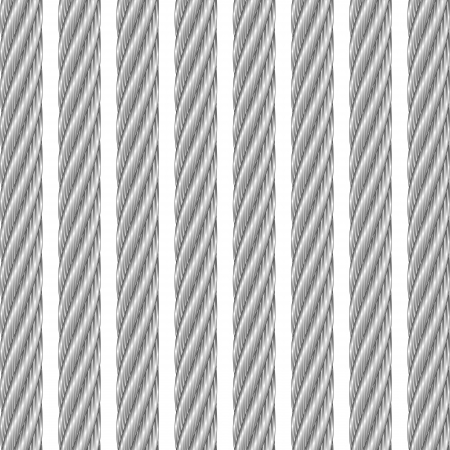 steel wire: metal cable white