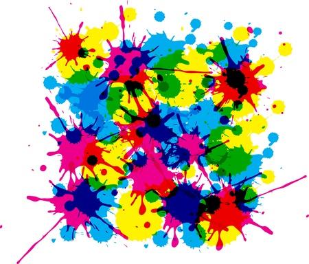 kleurvlekken