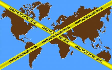 crime scene do not cross: Earth Crime Scene Do Not Cross