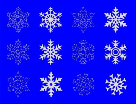 snowflake Stock Vector - 16892626