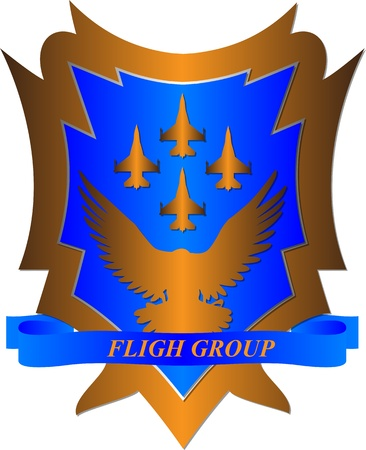 Fligh group Stock Vector - 16960910
