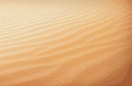 dryness: Sahara desert Illustration
