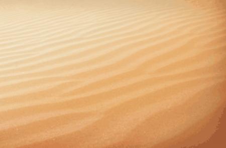 sahara desert: Sahara desert Illustration