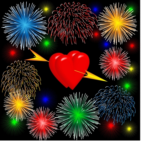 hearts for valentine Stock Vector - 17337725