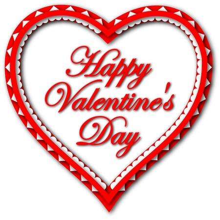 Happy Valentine Stock Vector - 17360670