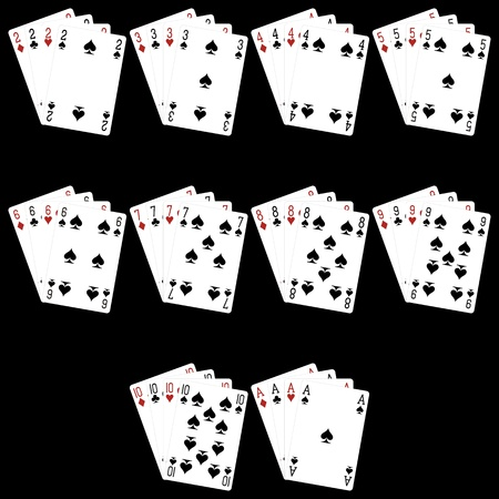 Playing Cards Stock Vector - 18286643