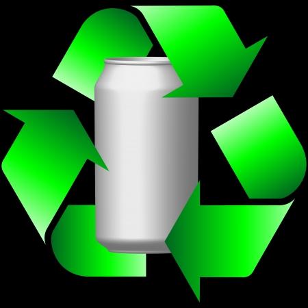 scrap metal: recycling cans