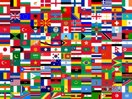 australia flag: flag background