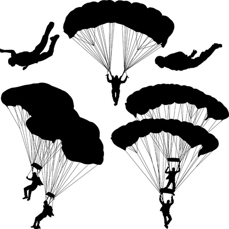 Paratrooper Vector