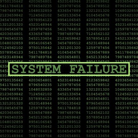 Défaillance du système