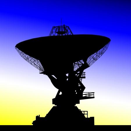 starlit: radio telescope