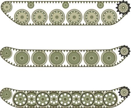 Tank caterpillar Stock Vector - 19656422