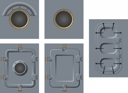 porthole: doors and windows of the ship