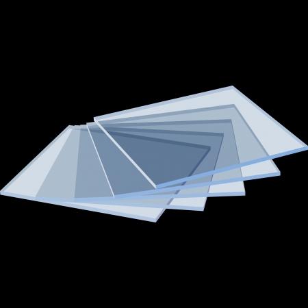 glass table black Stock Vector - 20067178