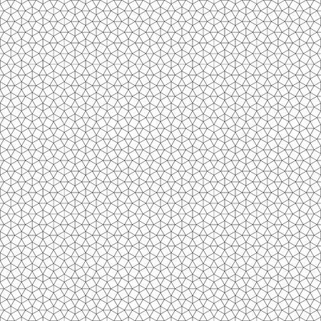 network of geometric figures