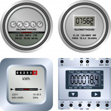 electrical equipment: electric meter