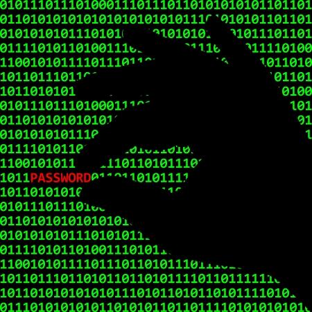 Cybercriminalité Banque d'images - 20718301