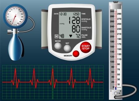 Sphygmomanometer Stock Vector - 21422587