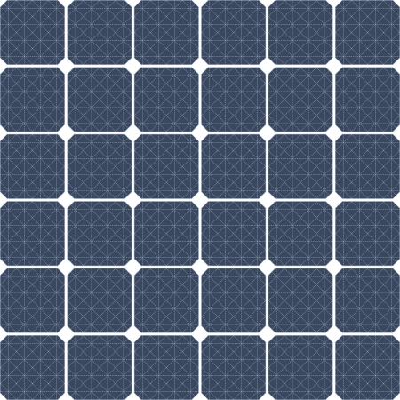 Solar panel as a background Vector