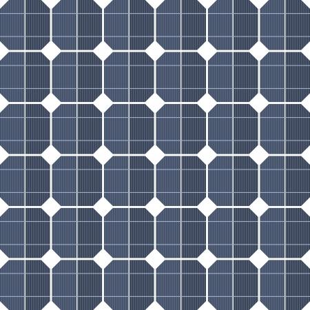 Les panneaux solaires en arrière-plan Vecteurs