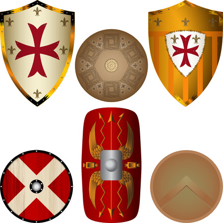 ornamental shield: Shields from the Middle Ages
