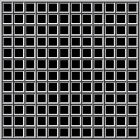 incarceration: Prison bars black Illustration