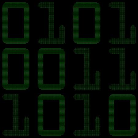 nexus: Binary code Illustration
