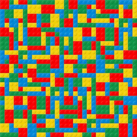 plastic texture: Plastic cube