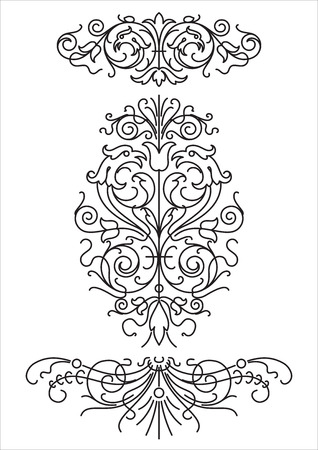 antique ornament Illustration