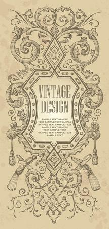 vintage frame design Stock Vector - 7858784