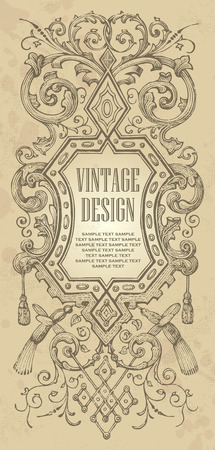 vintage frame design Stock Vector - 7858784