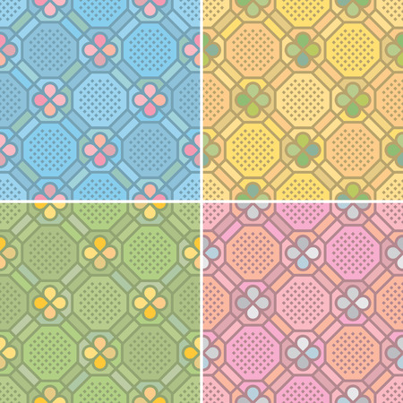 carpet and flooring: seamless pattern  Illustration