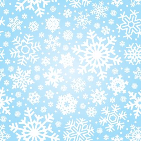 snow flakes: seamless snowflakes pattern