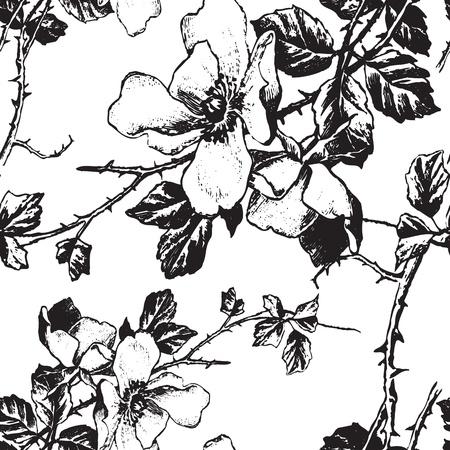tilable: seamless pattern (vector) Illustration