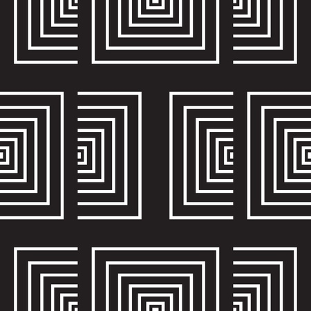 symmetric: seamless pattern (vector) Illustration