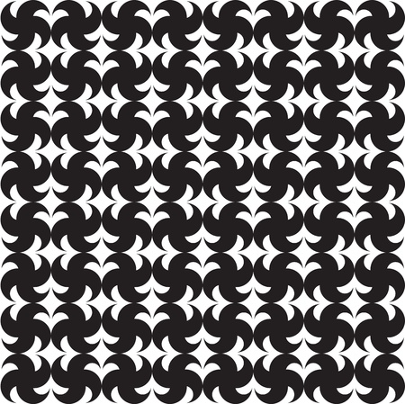 symmetrical design: seamless pattern (vector) Illustration