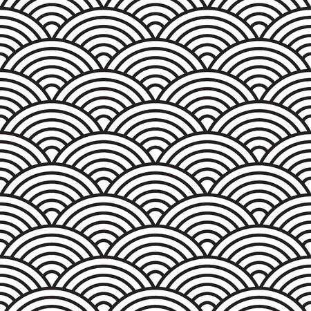 monochroom: naadloze patroon (vector)