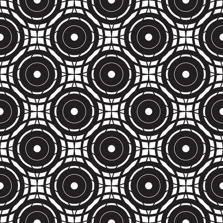 tileable: seamless pattern (vector) Illustration
