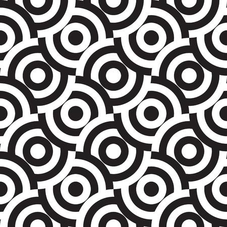 monocrom�tico: seamless pattern (vector) Ilustra��o