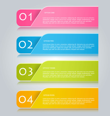 presentation: Infographics template for business, education, web design, banners, brochures, flyers. Vector illustration.