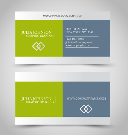 Id card template stock photos royalty free id card template images business card set template for business identity corporate style green and grey color vector flashek Gallery