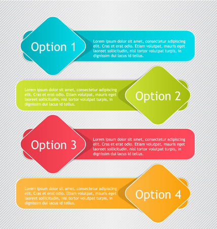business education: Infographics template for business, education, web design, banners, brochures, flyers.  Vector illustration. Illustration