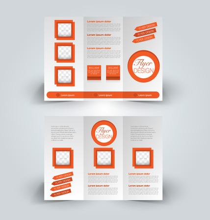 Broschüre Design-Vorlage. Abstrakter Hintergrund. Für Wirtschaft ...