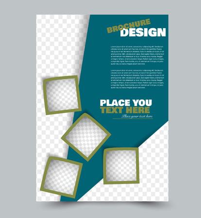 Business corporate brochure template.