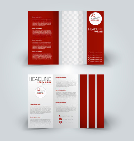Business banner, cover, report, presentation template design.