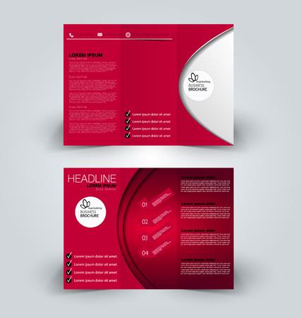 Business brochure, cover, presentation or banner template design.