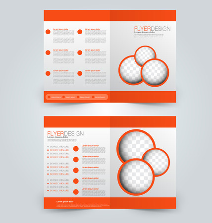 Abstract brochure design background.