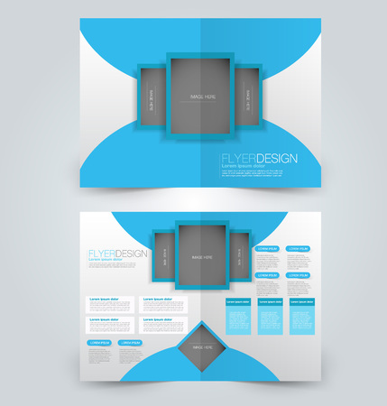 Brochure template.
